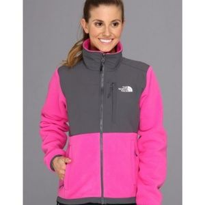 The North Face Pink Denali Thermal Fleece Jacket